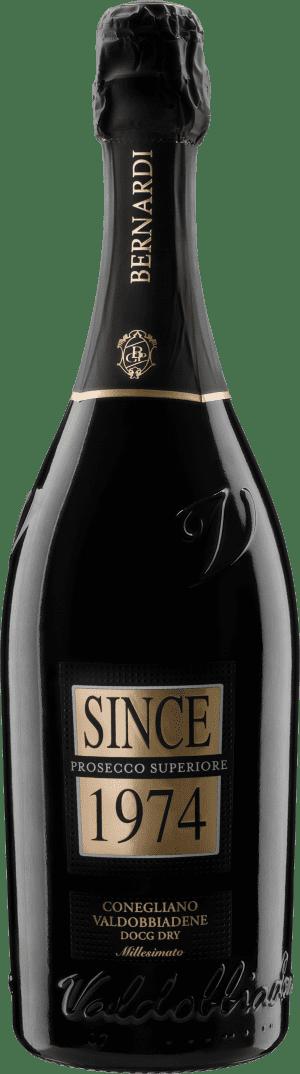 Sausas putojantis vynas SINCE 1974 Prosecco Superiore DOCG Dry