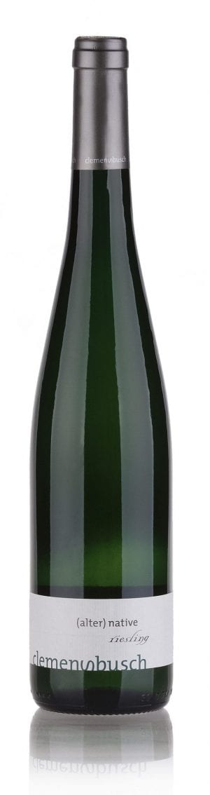 Baltas sausas vynas CLEMENS BUSCH RIESLING (ALTER-) NATIVE, NATŪRALUS VYNAS 2016 0,75L