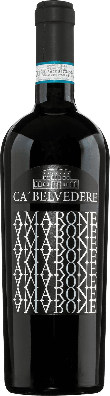 Raudonas sausas vynas Ca`Belvedere Amarone DOCG 2016 0,75l