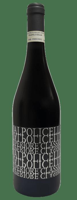 Raudonas sausas vynas CA`BELVEDERE VALPOLICELLA RIPASSO SUPERIORE DOC 2017 0,75L